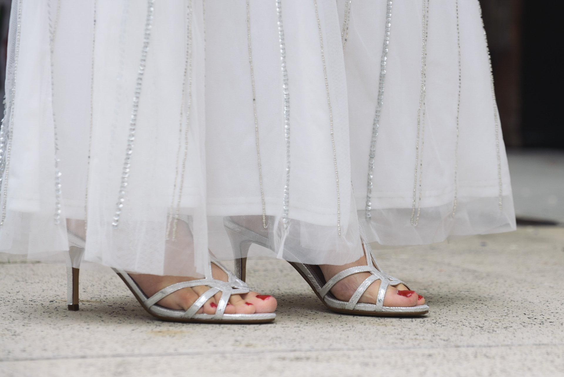islington wedding bride shoes